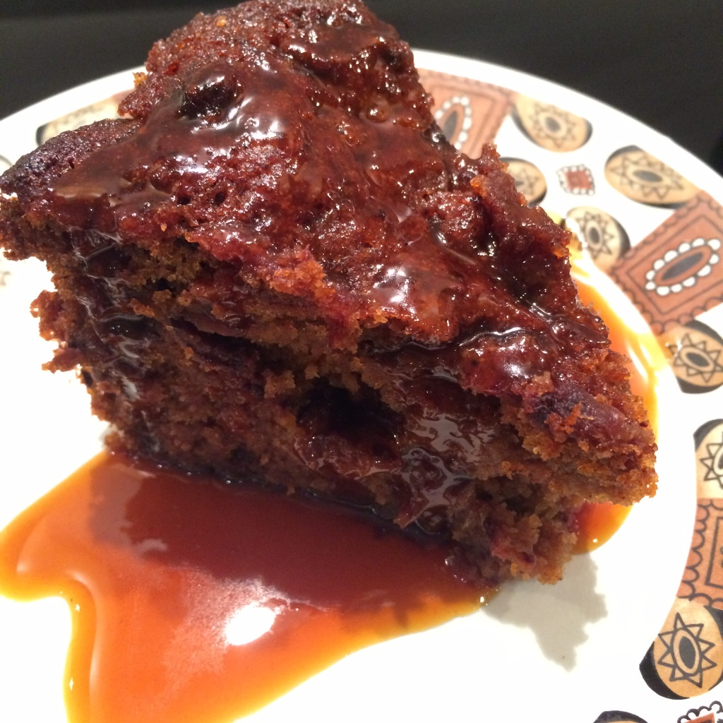 Sticky Toffee Pudding w Rum Caramel Sauce