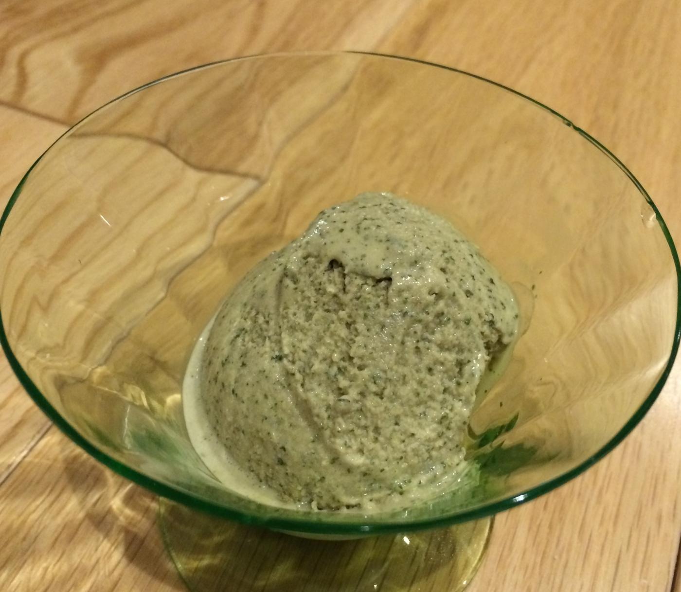 Mint ice cream vegan