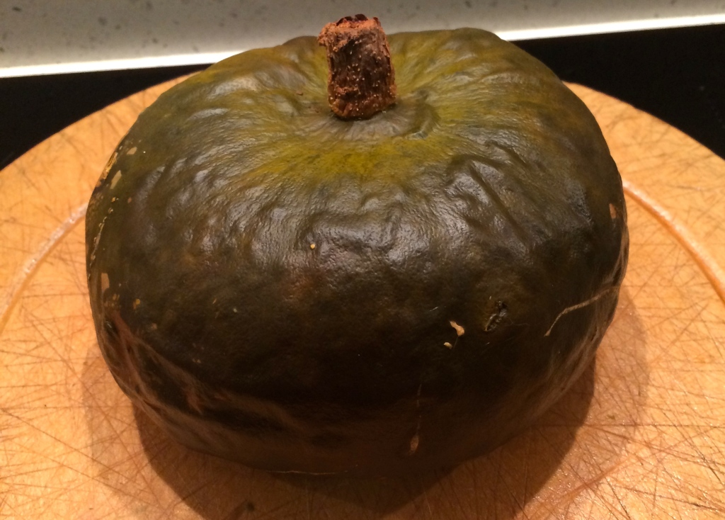 Crown Prince winter squash, after baking